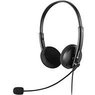 Sandberg PC MiniJack Office Saver Headset černá - Sluchátka