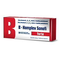 B-Komplex Sanofi FORTE 20 ks