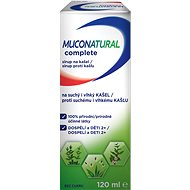 MUCONATURAL COMPLETE sirup na kašel, 120 ml - Bylinný sirup