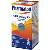PHARMATON MAN ENERGY 30+  tbl. 30 - Multivitamín