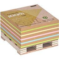 STICK´N Kraft na paletce, 76 x 76 mm, 400 lístků  - Samolepicí bloček