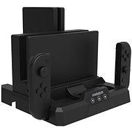 Snakebyte Dual CHARGE:BASE S - stojan pro Nintendo Switch - Nabíjecí stojánek