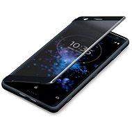 Sony SCTH40 Style Cover Touch pro Xperia XZ2 Black - Pouzdro na mobilní telefon