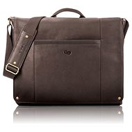 "Solo Hudson Leather Messenger Espresso 16"" - Brašna na notebook"