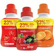 SodaStream Pomeranč/Cola/Lesní plody - Sada