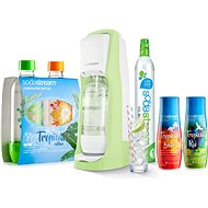 SodaStream Jet Grass Green Tropical Edition Prales 2+2 - Sada
