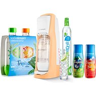 SodaStream Jet Orange Tropical Edition Prales 2+2 - Sada