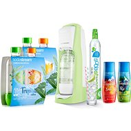 SodaStream Jet Grass Green Tropical Edition 4+2 - Sada
