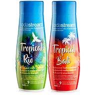 SodaStream Příchuť Tropical Edition Ananas-Kokos a Mango-Kokos - Sada