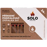 SOLO Fire Lighter 2-in-1, 24pcs - Firelighters