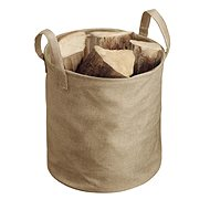 SOLO Natural Wood Fireplace Basket - Fireplace basket