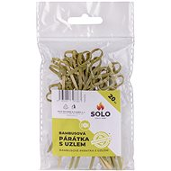 SOLO Toothpicks with Knot 9cm/20 pcs - Disposable Tableware