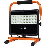 LED venkovní reflektor se stojanem, 30W, 2550lm, 5000K, kabel se zástrčkou, AC 230V