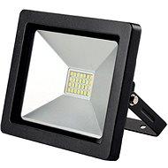 LED venkovní reflektor SLIM, 30W, 2100lm, 3000K, černá