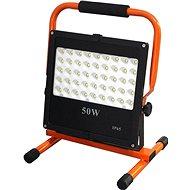 LED venkovní reflektor se stojanem, 50W, 4250lm, kabel se zástrčkou, AC 230V - LED reflektor