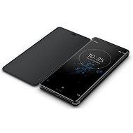 Sony SCSH70 Style Cover Stand Xperia XZ3, Black - Pouzdro na mobilní telefon