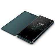 Sony SCSH70 Style Cover Stand Xperia XZ3, Green - Pouzdro na mobilní telefon