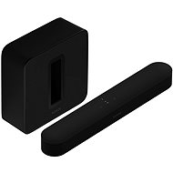 Sonos Beam 3.1 Surround Set, Black - Home Cinema System