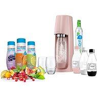 SodaStream SPIRIT Růžový Ladys Pack - Výrobník sody