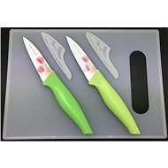SOVIO set of 2 knives + cutting board SV-N02PST tul. - Knife Set