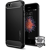 SPIGEN Rugged Armor Black iPhone SE/5s/5 - Kryt na mobil