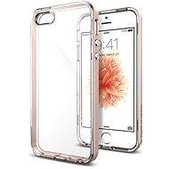 SPIGEN Neo Hybrid Crystal Rose Gold iPhone SE/5s/5 - Ochranný kryt