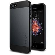 SPIGEN Slim Armor Metal Slate iPhone SE/5s/5 - Ochranný kryt