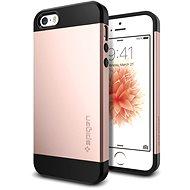 SPIGEN Slim Armor Rose Gold iPhone SE/5s/5 - Ochranný kryt