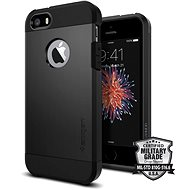SPIGEN Tough Armor Black iPhone SE/5s/5 - Ochranný kryt