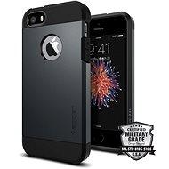 SPIGEN Tough Armor Metal Slate iPhone SE/5s/5 - Ochranný kryt