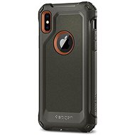 Spigen Pro Guard Army Green iPhone X - Ochranný kryt