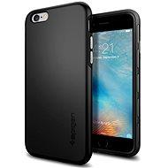 SPIGEN Thin Fit Hybrid Black iPhone 6/6S - Kryt na mobil