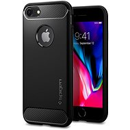 Spigen Rugged Armor Black iPhone 7/8 - Mobile Case