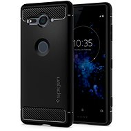 Spigen Rugged Armor Black Sony Xperia XZ2 Compact - Kryt na mobil
