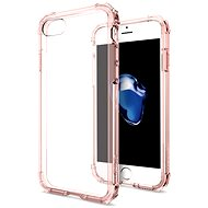 Spigen Crystal Shell Rose crystal iPhone 7 - Ochranný kryt
