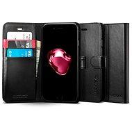 Spigen Wallet S Black iPhone 7 Plus /8 Plus - Pouzdro na mobilní telefon