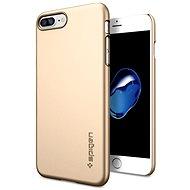 Spigen Thin Fit Champagne Gold iPhone 7 Plus - Ochranný kryt