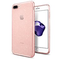 Spigen Liquid Crystal Glitter Rose Quartz iPhone 7 Plus /8 Plus - Ochranný kryt