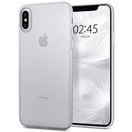 Spigen Air Skin Clear iPhone X - Ochranný kryt