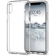 Spigen Liquid Crystal Clear iPhone X - Ochranný kryt