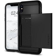 Spigen Slim Armor CS Black iPhone X - Ochranný kryt