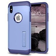 Spigen Slim Armor Violet iPhone X - Ochranný kryt
