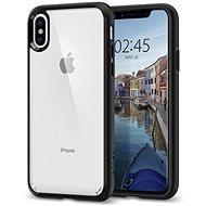 Spigen Ultra Hybrid Matte Black iPhone X - Ochranný kryt