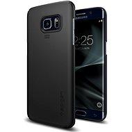 SPIGEN Thin Fit Black Samsung Galaxy S7 Edge - Ochranný kryt