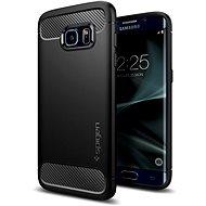 SPIGEN Rugged Armor Black Samsung Galaxy S7 Edge - Kryt na mobil