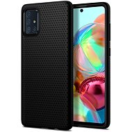 Spigen Liquid Air Black Samsung Galaxy A71 - Kryt na mobil