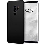 Spigen Air Skin Black Samsung Galaxy S9+ - Ochranný kryt