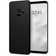 Spigen Air Skin Black Samsung Galaxy S9 - Kryt na mobil