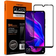 Spigen Glass FC HD Black Huawei P30 Lite/P30 Lite NEW EDITION - Ochranné sklo
