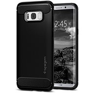 Spigen Rugged Armor Black Samsung Galaxy S8+ - Kryt na mobil